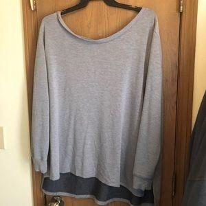 Crisscross sweatshirt